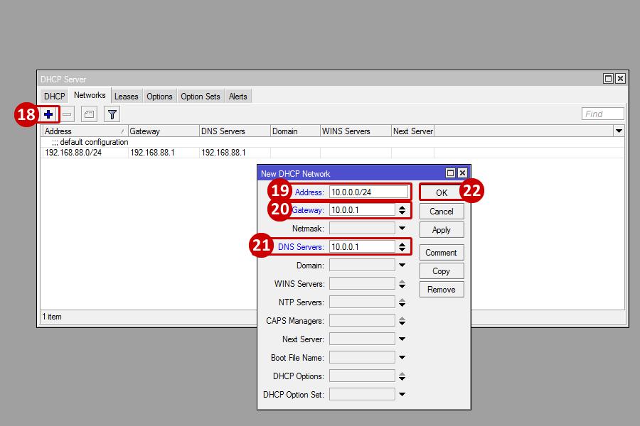 Mikrotik - Change LAN Subnet - Powered by Kayako Help Desk