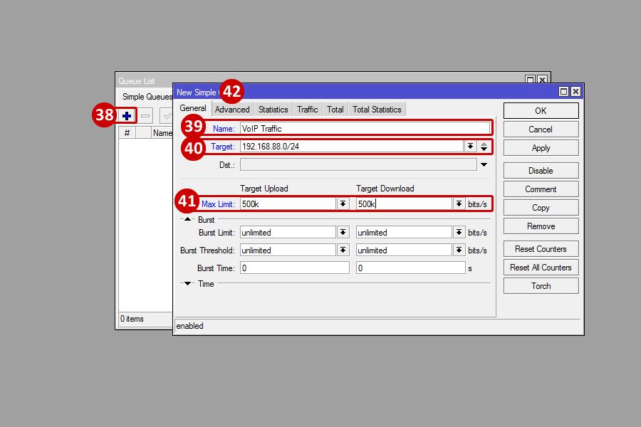 Mikrotik - Configuring QoS - Powered by Kayako Help Desk Software