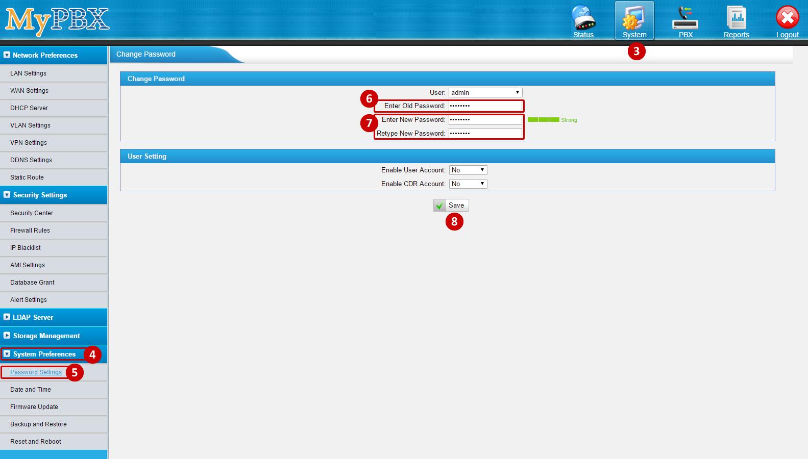 Yeastar MyPBX Configuration Guide - Powered by Kayako Help Desk Software
