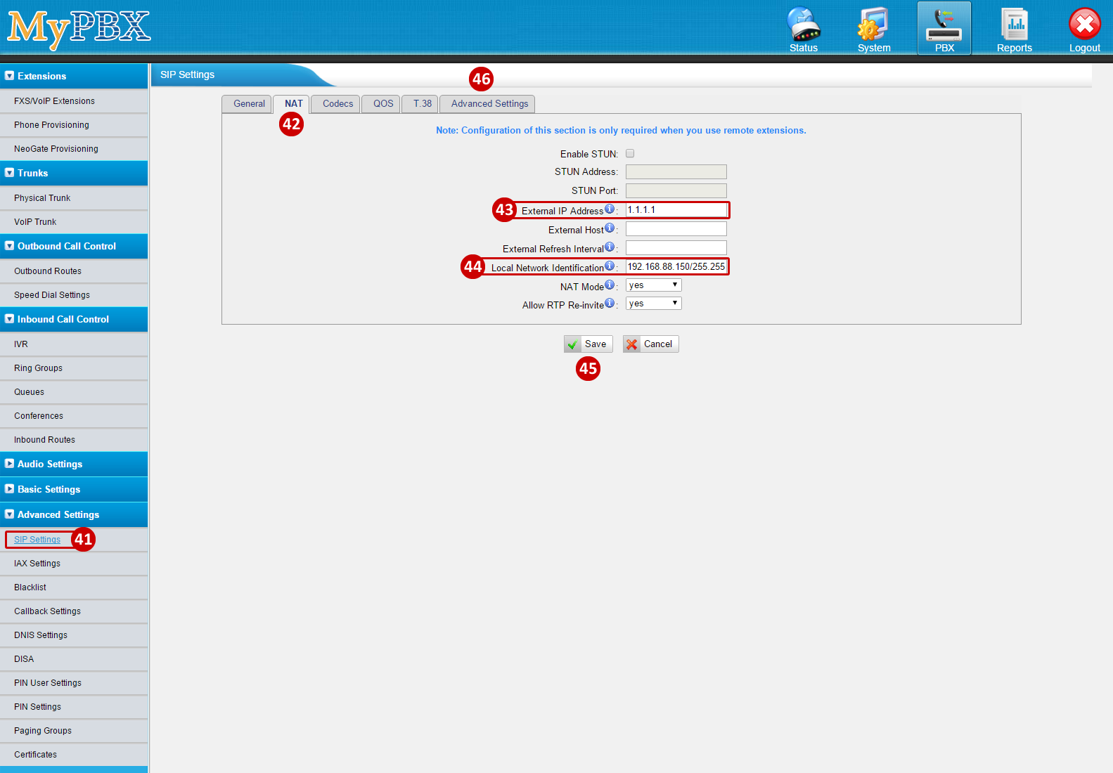 Yeastar MyPBX Configuration Guide - Powered by Kayako Help